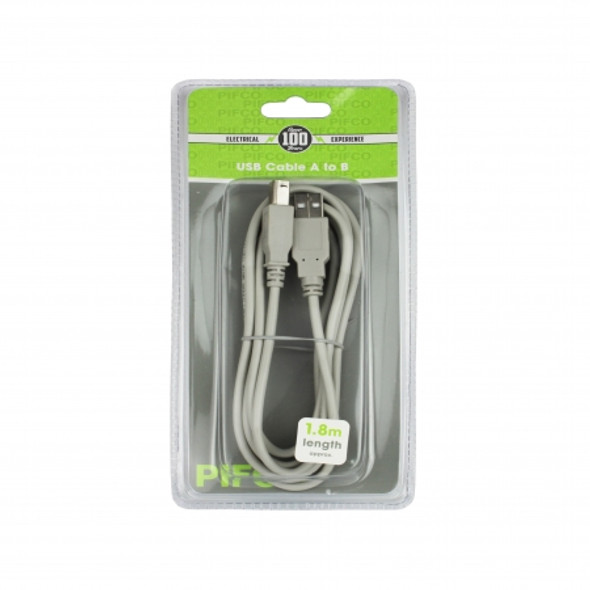 1.8m Usb Printer Cable A To B