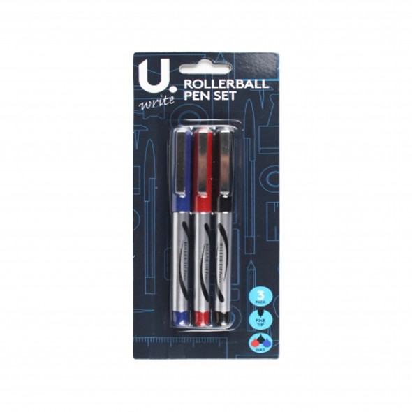 Rollerball Pen Set Assorted Colours
