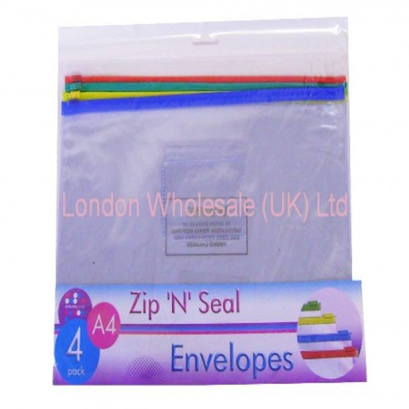 A4 Zip And Seal Envelopes