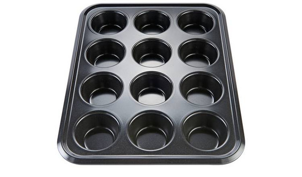 12 LARGE MUFFIN YORKSHIRE PUDDING MOULD CUPCAKE BAKING TRAY BAKEWARE NEW NON STICK BAKING PAN
