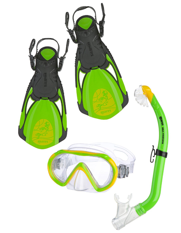 Mares Sea Friends Turtle Snorkelling set