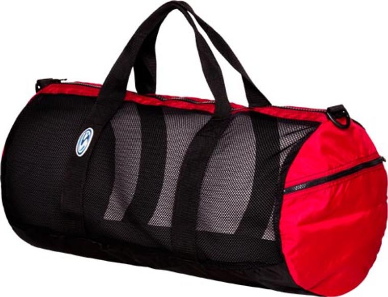 """Stahlsac Mesh Duffel Bag 26"""" Red"""