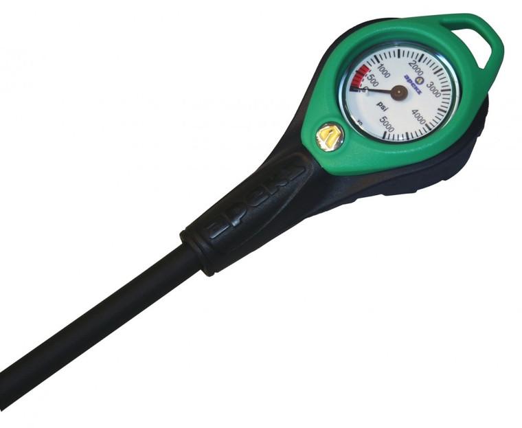 Apeks Nitrox Pressure Gauge & Hose Metric