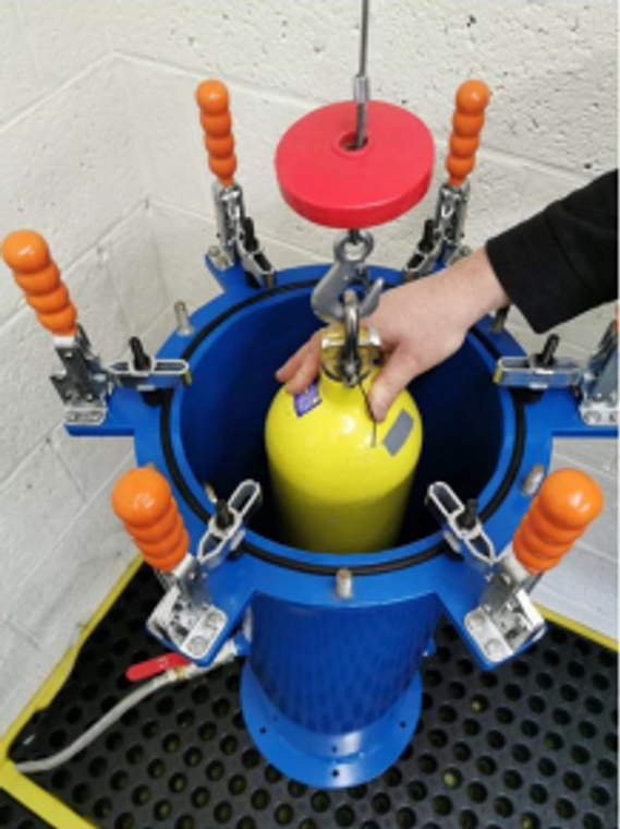 Hydrostatic Cylinder test - Single Cylinder(required every 5 years)