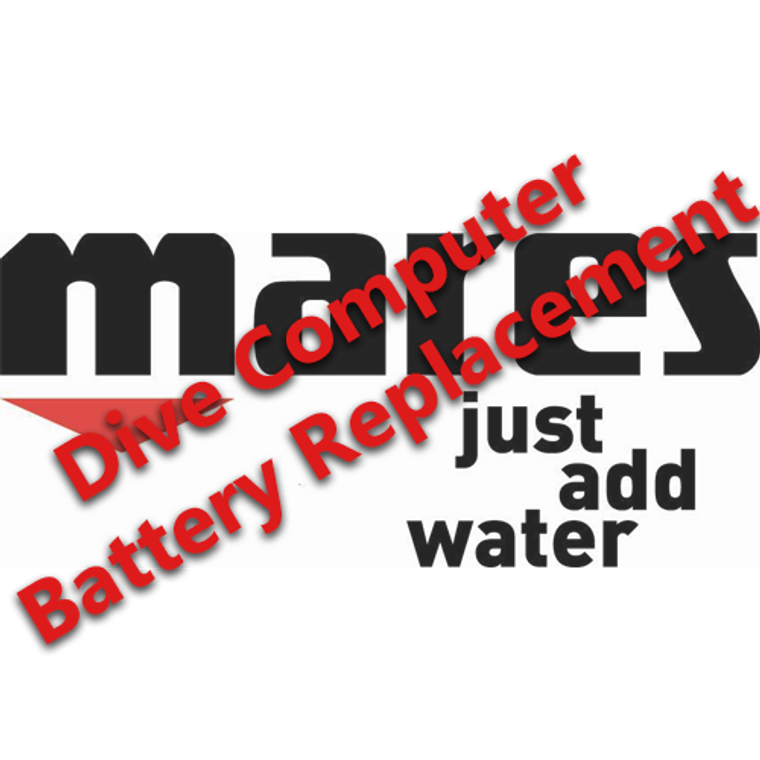 Dive Computer Battery Replacement - MARES