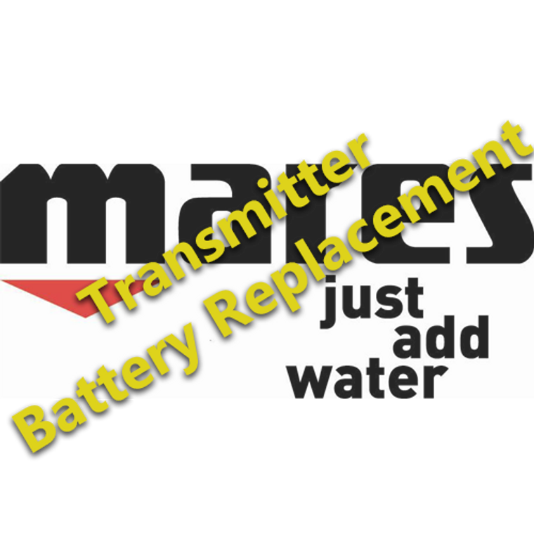 Transmitter Battery Replacement - Mares
