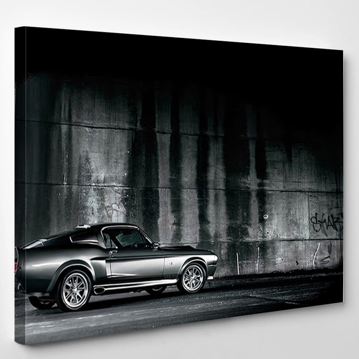 Ford Mustang Eleanor Car - Automotive Canvas Wall Decor