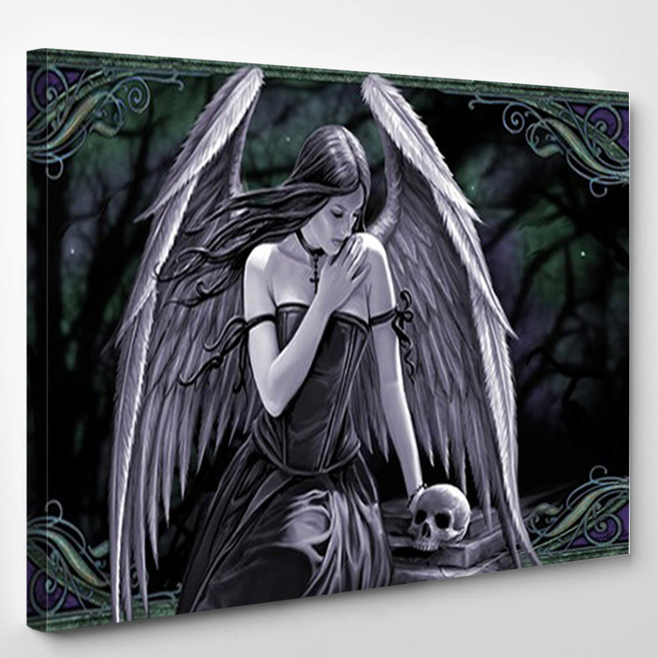 Anne Stokes Spirit Guide - Abstract Canvas Wall Decor