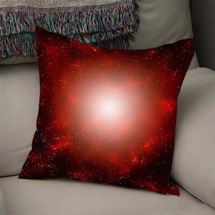3D Illustration Planets Galaxy Science Fiction 2 - Galaxy Sky and Space Linen Throw Pillow
