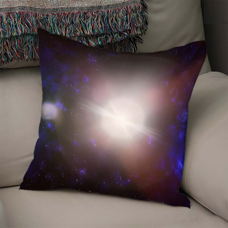 3D Illustration Planets Galaxy Science Fiction 4 - Galaxy Sky and Space Linen Throw Pillow