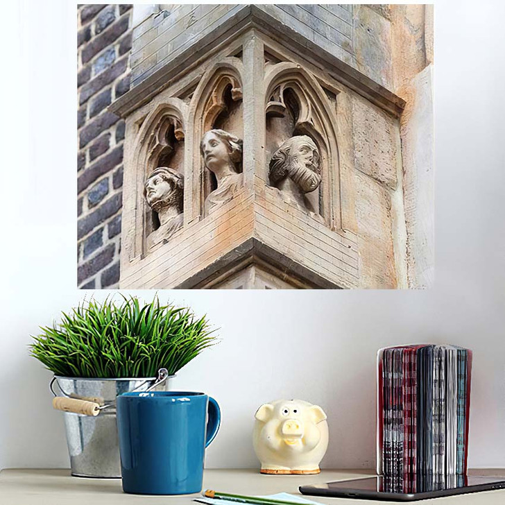 14Th Century Gothic St Elisabeth Church - Landmarks and Monuments Wall Art Poster
