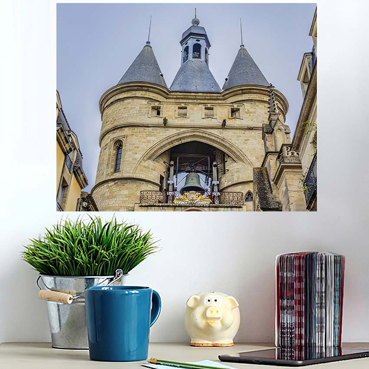 35 Meters Bordeaux Cailhau Gate Porte - Landmarks and Monuments Wall Art Poster