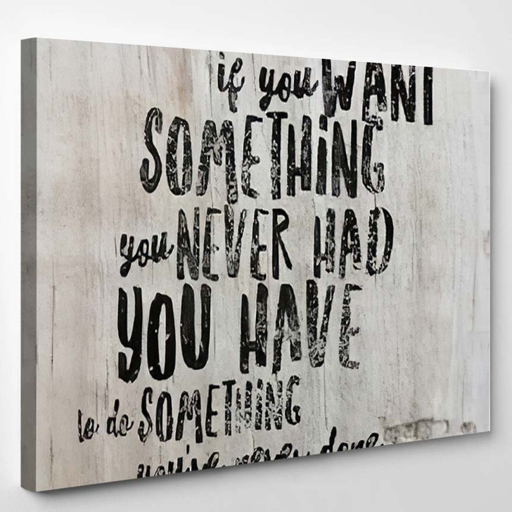 Inspirational Quote Best Motivational Quotes Sayings 1 - Quotes Canvas Wall Decor