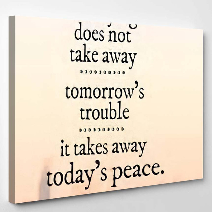 Inspirational Quote 37 - Quotes Canvas Wall Decor