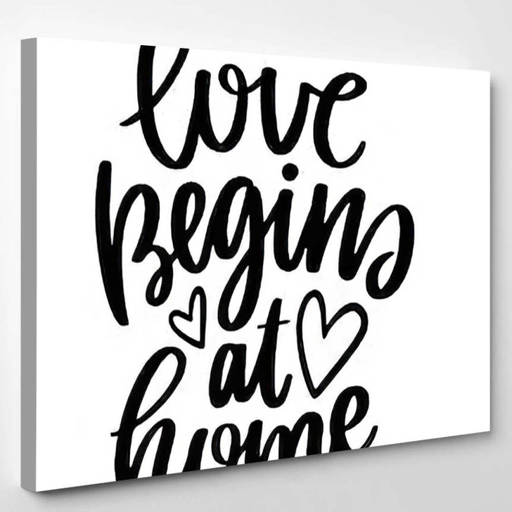 Vector Poster Phrase Decor Elements Typography - Quotes Canvas Wall Decor
