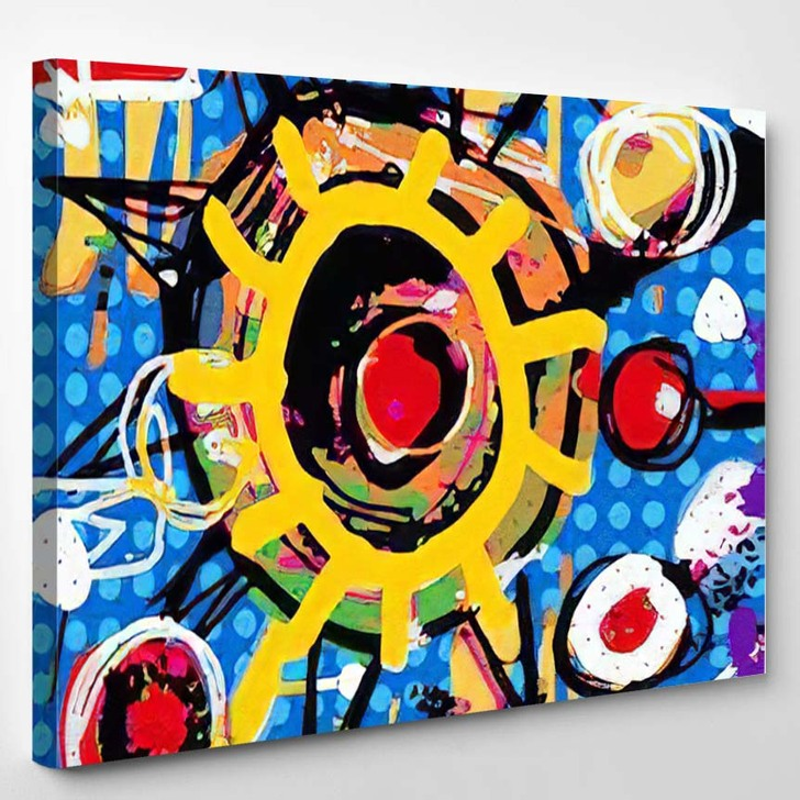Abstract Art Background 19 - Abstract Art Canvas Wall Decor