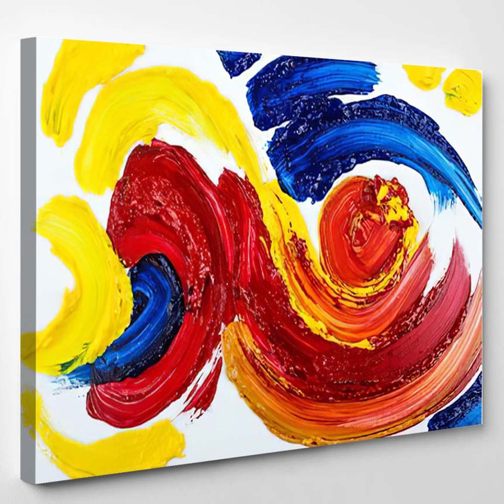 Abstract Art Background 33 - Abstract Art Canvas Wall Decor