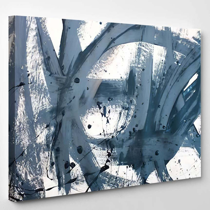 Abstract Art Creative Background Hand Painted 2 - Abstract Art Canvas Wall Decor