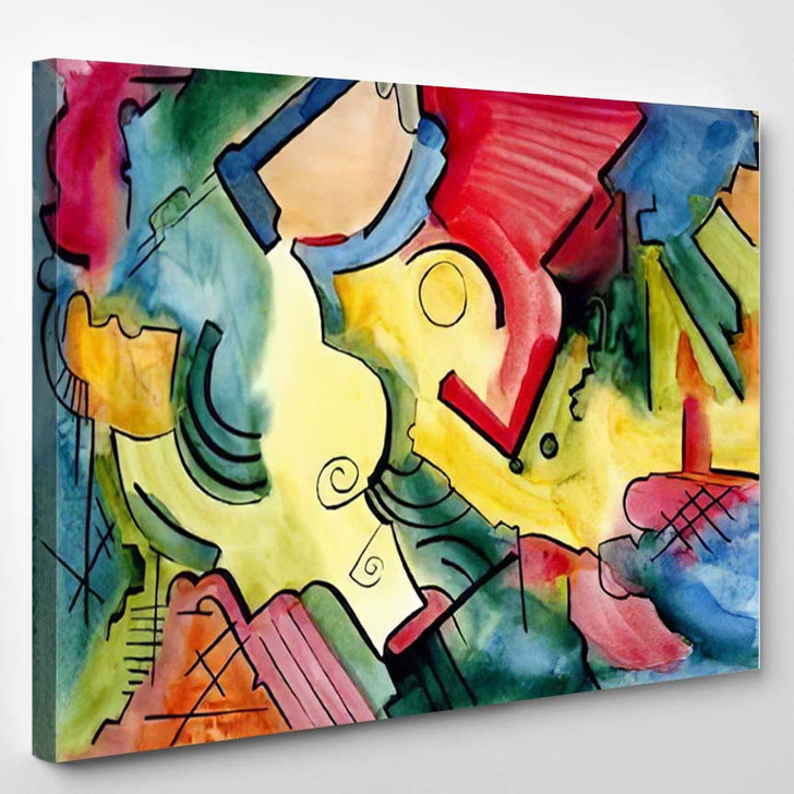 Abstract Art Design 2 - Abstract Art Canvas Wall Decor