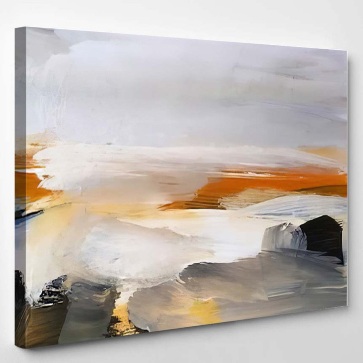Abstract Art Painting Background Modern Contemporary 9 - Abstract Art Canvas Wall Decor