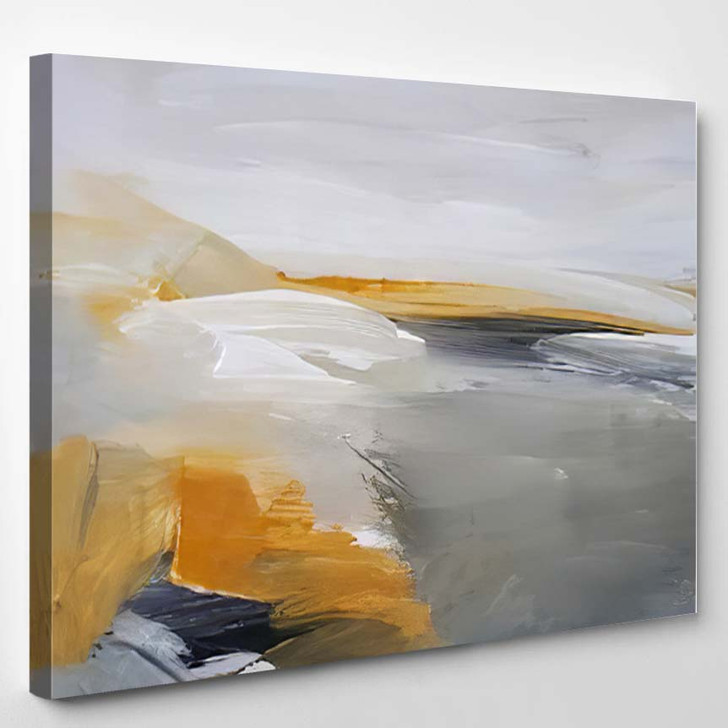 Abstract Art Painting Background Modern Contemporary 10 - Abstract Art Canvas Wall Decor