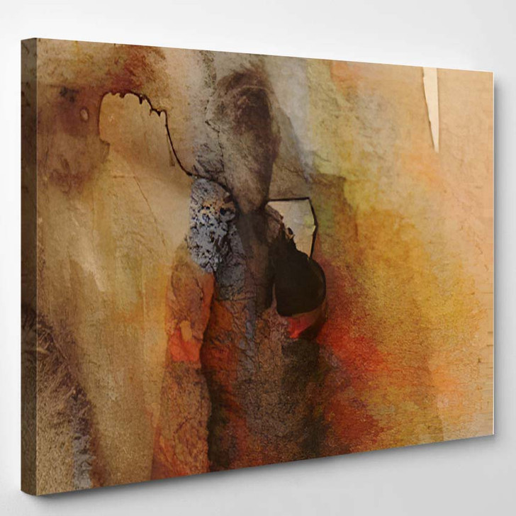 Abstract Background Painting 3 1 - Abstract Art Canvas Wall Decor