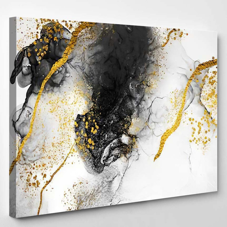 Abstract Cloudsart Transparent Creativity Masterpiece Designing - Abstract Art Canvas Wall Decor
