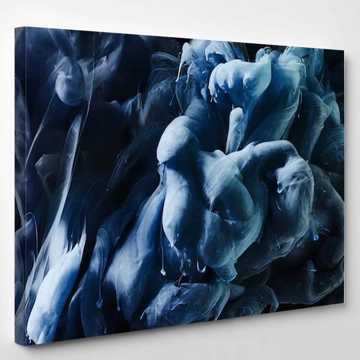 Abstract Ink Water - Abstract Art Canvas Wall Decor