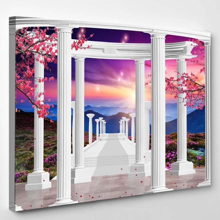 3D Amazing Natural Wallpaper Background - Canvas Wall Decor