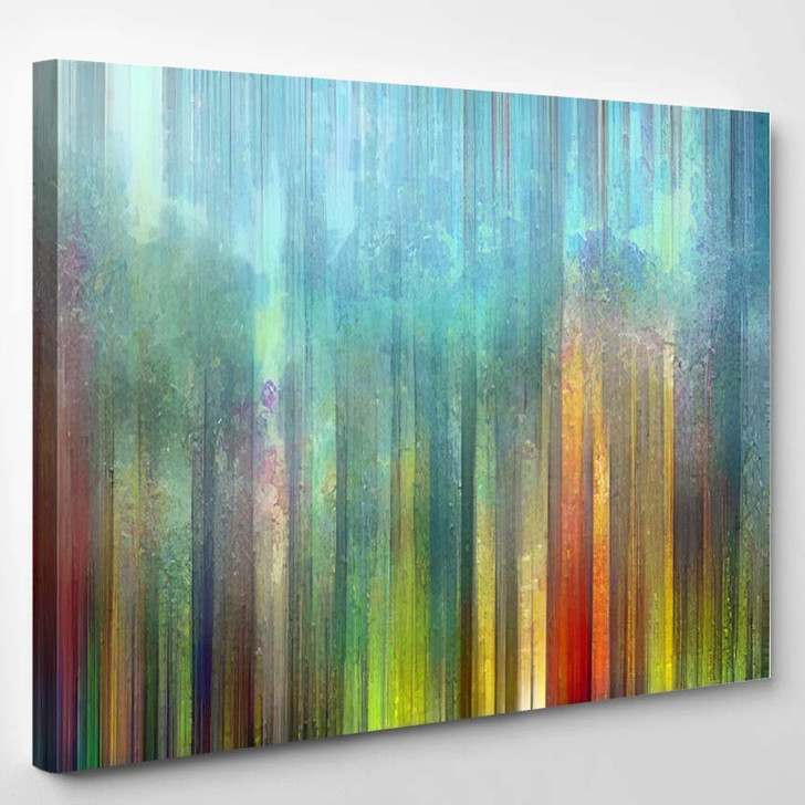 Abstract Painting Background Digital Structure - Abstract Art Canvas Wall Decor