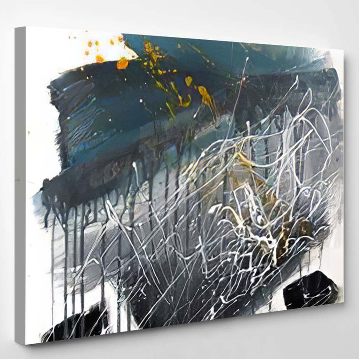 Abstract Painting Background On Canvas Art - Abstract Art Canvas Wall Decor