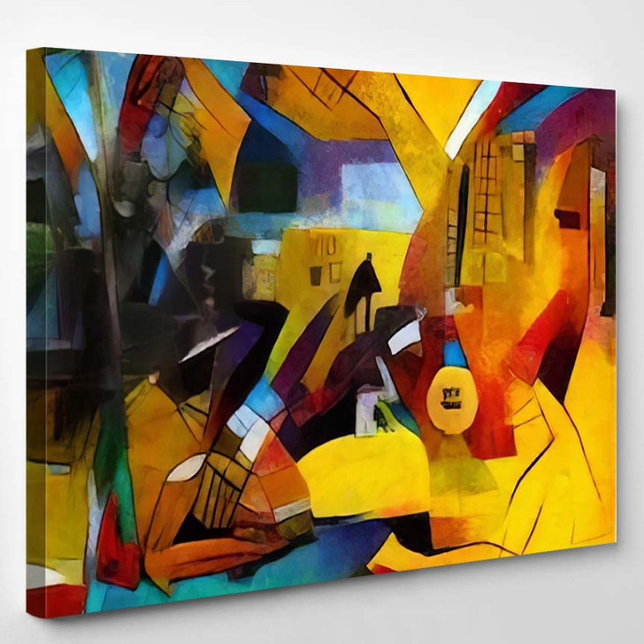 Alternative Reproductions Famous Paintings By Picasso - Abstract Art Canvas Wall Decor