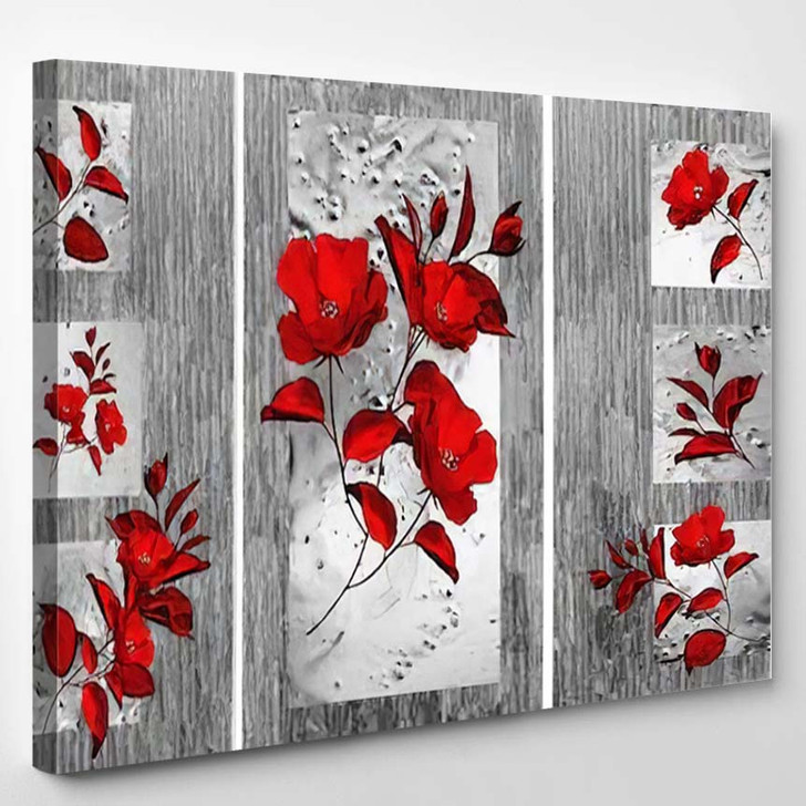 Collection Designer Oil Paintings Decoration Interior 49 - Abstract Art Canvas Wall Decor