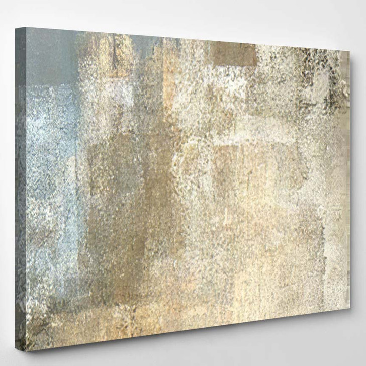 Grey Beige Abstract Art Painting 4 - Abstract Art Canvas Wall Decor