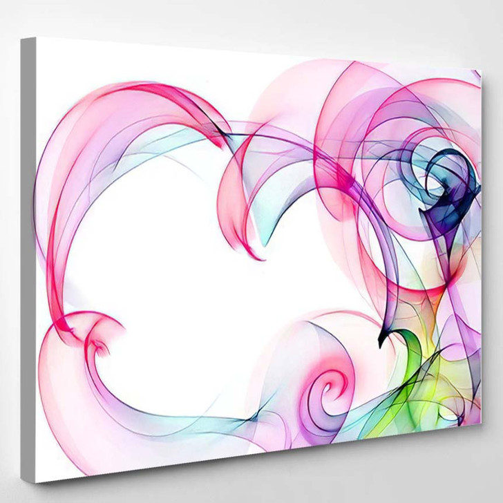 Original Abstract Colorful Background 1 - Abstract Art Canvas Wall Decor