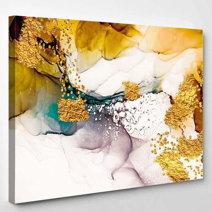 Tenderness Pastel Colours Unique Creativity Inspired - Abstract Art Canvas Wall Decor