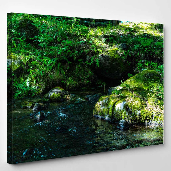 100 Famous Water Japan - Canvas Wall Decor