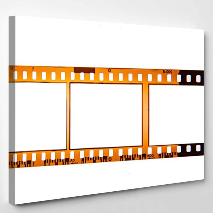 35 Mm Film Frame Vintage Space - Canvas Wall Decor