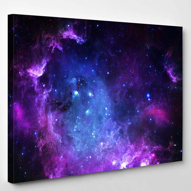 Starfield Elements This Image Furnished By 1 - Galaxy Sky and Space Canvas Wall Decor