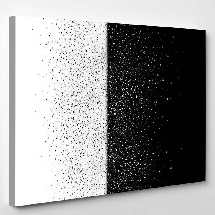 Stars Dust Scattered Glitter Galaxy Snow - Galaxy Sky and Space Canvas Wall Decor