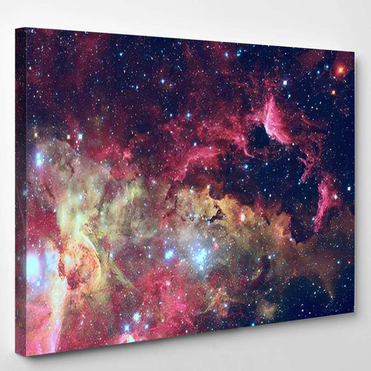 Stars Galaxy Deep Space Elements This - Galaxy Sky and Space Canvas Wall Decor