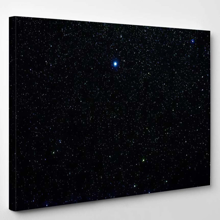 Stars Galaxy Outer Space Sky Night 3 1 - Galaxy Sky and Space Canvas Wall Decor