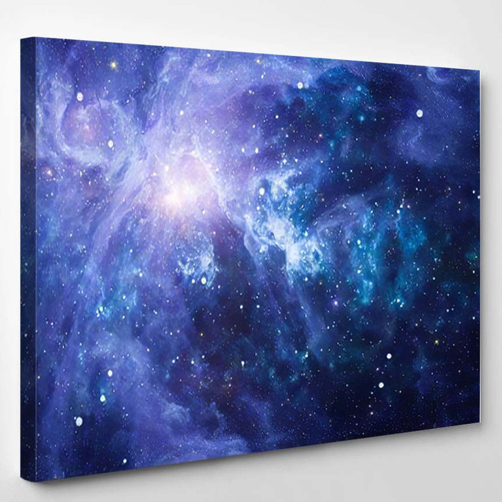 Stars Planet Galaxy Free Space Elements 14 - Galaxy Sky and Space Canvas Wall Decor
