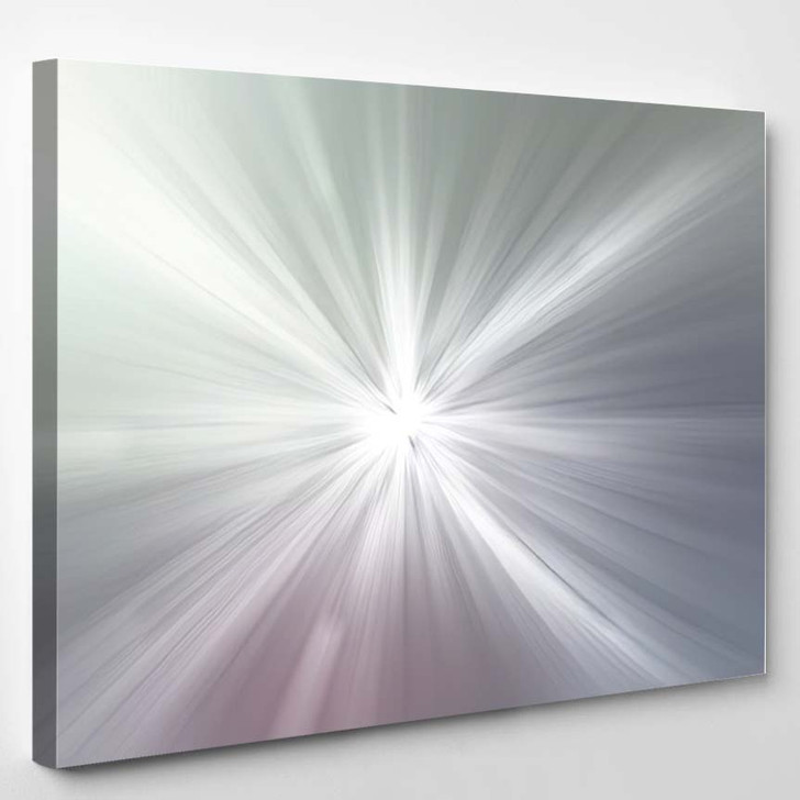 Abstract Light Background 19 - Galaxy Sky and Space Canvas Wall Decor