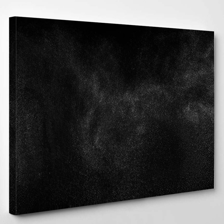 Abstract Splashes Water On Black Background 6 - Galaxy Sky and Space Canvas Wall Decor