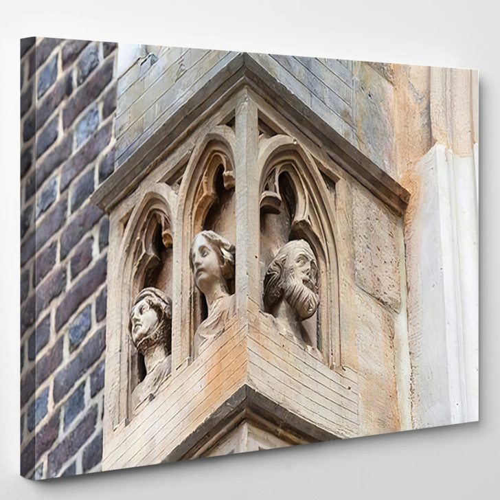14Th Century Gothic St Elisabeth Church - Landmarks and Monuments Canvas Wall Decor