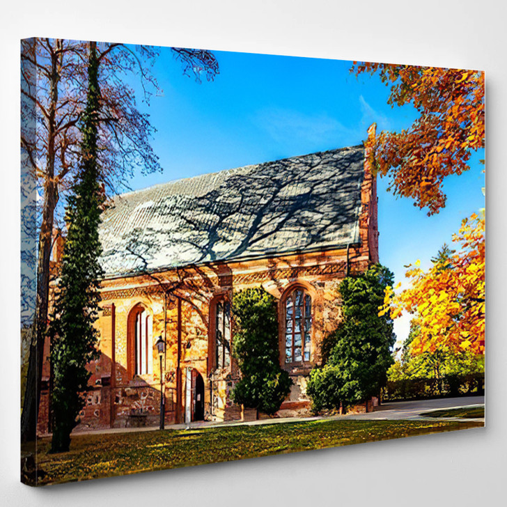 Abbey Heiligengrabe Germany - Landmarks and Monuments Canvas Wall Decor