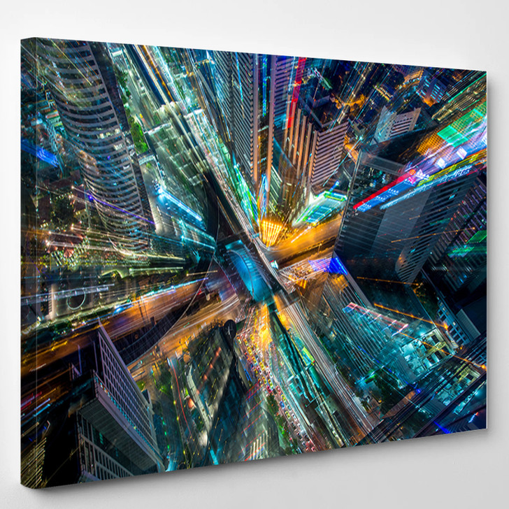Abstract City - Landscape Canvas Wall Decor