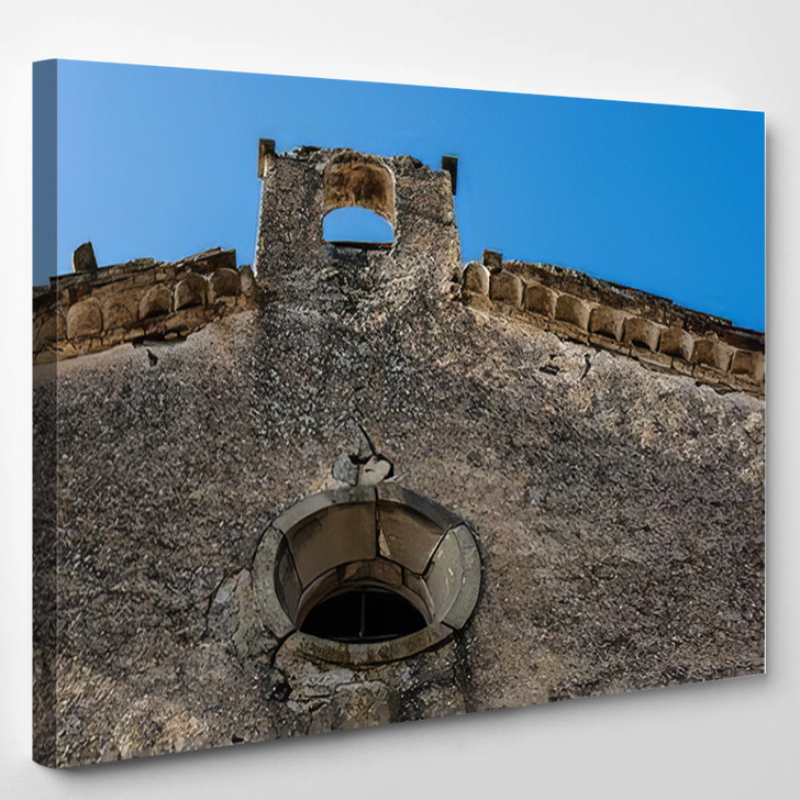 Abandoned Place La Segarra Lleida - Landmarks and Monuments Canvas Wall Decor