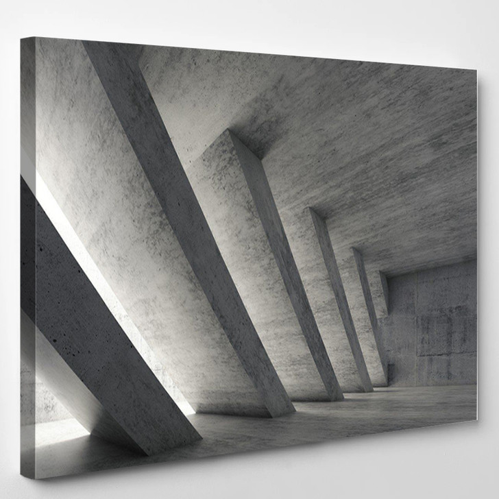 Abstract Architecture - Abstract Canvas Wall Decor